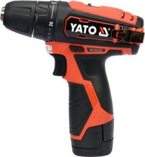 Akumulátorový vŕtací skrutkovač YATO